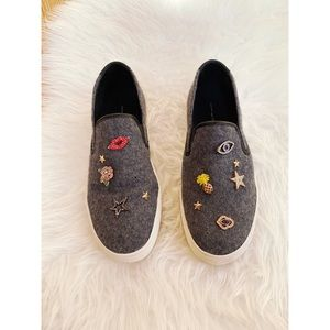 Steve Madden • Gerry Platform Slip On Sneakers